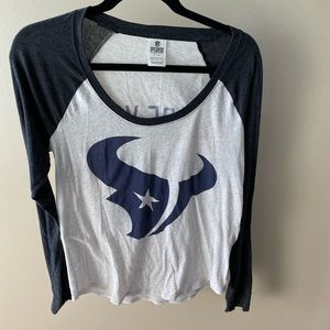 Long sleeve Houston Texans shirt